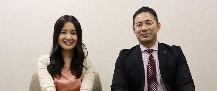 内藤 氏と柳澤 氏